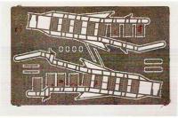 Фототравление: Стремянка для самолета Су-27 (DAN models 48513) 1/48