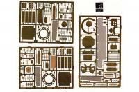 Фототравление для танка M1A1 Abrams (Eduard 35333) 1/35