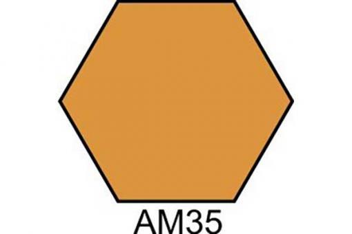 АМ35 ПЕСОЧНО-КОРИЧНЕВЫЙ Краска акриловая матовая ХО-МА