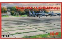 Сборная модель - Советские плиты аэродромного покрытия ПАГ-14 / Soviet PAG-14 Airfield Plates (ICM 72214) 1/72