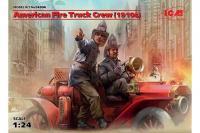 Екіпаж американської пожежної машини 1910 років (ICM 24006) 1/24