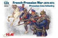 Прусская линейная пехота 1870-1871 гг (ICM 35012) 1/35