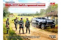 Sd.Kfz.251 / 1 Ausf.A з піхотою (ICM 35103) 1/35