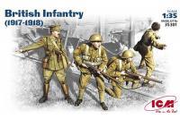 Британская пехота 1917-1918 гг (ICM 35301) 1/35