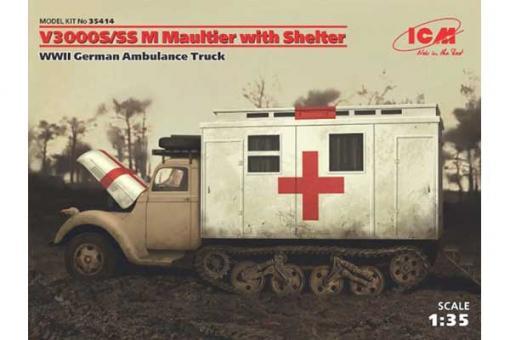 V3000S/SS M Maultier с санитарной будкой (ICM 35414) 1/35