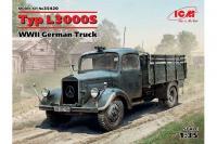Немецкий грузовой автомобиль Typ L3000S (ICM 35420) 1/35