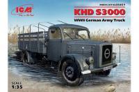 Сборная модель - Немецкий армейский грузовой автомобиль KHD S3000 (ICM 35451) 1/35