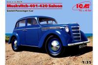 Москвич-401-420 седан (ICM 35479) 1/35