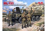 ЗиЛ-131 с мотопехотой (ICM 35516) 1/35