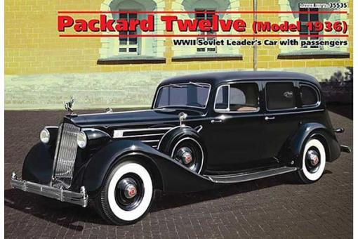 Packard Twelve c пассажирами (ICM 35535) 1/35