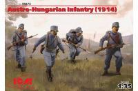 Австро-венгерская пехота 1914 года (ICM 35673) 1/35
