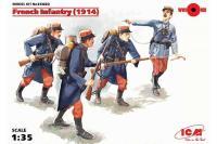 Французская пехота 1914 года (ICM 35682) 1/35