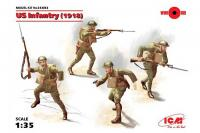 Американская пехота 1918 года (ICM 35693) 1/35