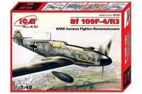 Сборная модель Messerchmitt Bf.109F-4/R3 (ICM 48106) 1/48