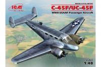 C-45F/UC-45F Пассажирский самолет США (ICM 48181) 1/48
