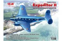 британский пассажирский самолет Expeditor II (ICM 48182) 1/48