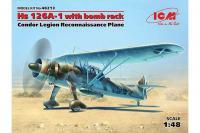 Самолет-разведчик Hs 126A-1 с бомбодержателем легиона Кондор (ICM 48213) 1/48