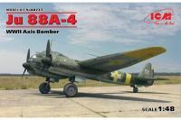 Немецкий бомбардировщик Ju 88A-4 (ICM 48237) 1/48
