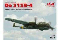 Немецкий ночной истребитель Дорнье Do 215B-4 (ICM 72305) 1/72