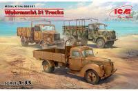 Грузовые автомобили Вермахта (V3000S, KHD S3000, L3000S) (1/35) ICM DS3507