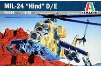 Ми-24 (Mil-24 Hind D/E) (ITALERI 0014) 1/72