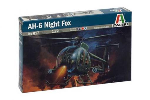 Сборная модель - вертолет Ah-6 Night Fox (ITALERI 0017) 1/72