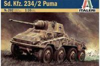 Бронемашина Sd.Kfz. 234/2 Puma (ITALERI 0202) 1/35