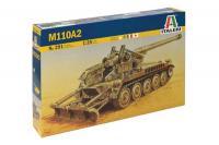 Сборная модель - САУ M-110 A2 (ITALERI 0291) 1/35