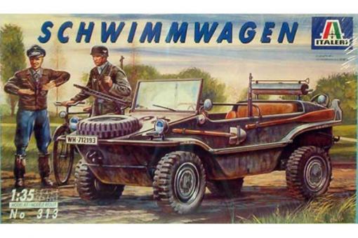 """Kfz.2 VW Typ 166 """"Schwimmwagen"""" (ITALERI 0313) 1/35"""