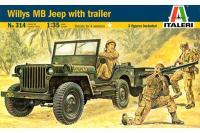 Willys MB с прицепом (ITALERI 0314) 1/35