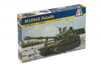"""Сборная модель - САУ M-109A6 """"Paladin"""" (ITALERI 0372) 1/35"""