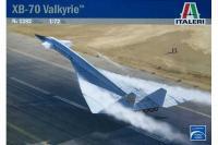 Сборная модель - XB-70 Valkyrie (ITALERI 1282) 1/72