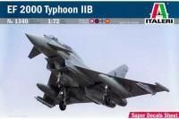 Сборная модель Многоцелевой истребитель EF-2000 Typhoon IIB (ITALERI 1340) 1/72