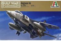 Сборная модель Истребитель-бомбардировщик Jaguar A (ITALERI 1386) 1/72