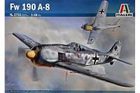 Немецкий истребитель Фокке-Вульф Fw-190 A-8 (ITALERI 2751) 1/48