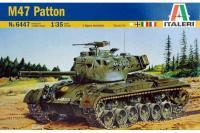 Сборная модель - Танк M-47 Patton (ITALERI 6447) 1/35