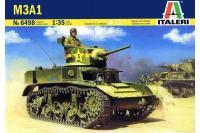 Сборная модель - Американский танк M3A1 (ITALERI 6498) 1/35