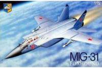 Сборная модель - советский перехватчик МиГ-31Б (Condor 7209) 1/72