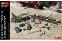 Набір деталізації - Залізничні Інструменти та Обладнання (Mini Art 35572) 1/35