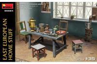 Збірні фігури - Меблі східно-європейського дому (MiniArt 35584) 1/35
