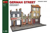 Сборная модель - German street - Немецкая улица (MiniArt 36037) 1/35