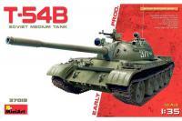 Сборная модель - Советский средний танк T-54Б ранних выпусков (MiniArt 37019) 1/35