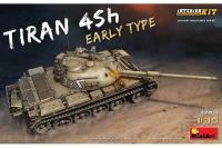 Сборная модель - Танк Тиран 4 Sh, раннего типа с интерьером (MiniArt 37021) 1/35