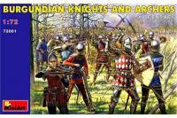 Бургундські лицарі і лучники VX століття (MiniArt 72001) 1/72