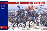 Бургундські кінні лицарі XV століття (MiniArt 72006) 1/72