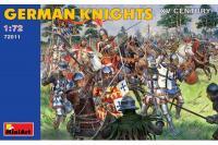 Німецькі лицарі XV століття (MiniArt 72011) 1/72