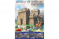 Сборная модель - Штурм средневековой крепости (модель + фигуры) (MiniArt 72033) 1/72