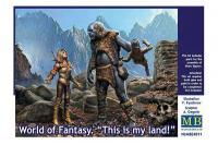 """Світ фентезі, """"Це моя земля!"""" (Master Box 24011) 1/24"""
