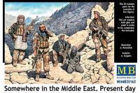 """Сборные солдатики - """"Где-то на Среднем Востоке"""" наши дни (MASTER BOX 35163) 1/35"""