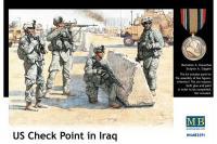 Сборные солдатики - Американские солдаты контрольно-пропускного пункта в Ираке (MASTER BOX 3591) 1/35